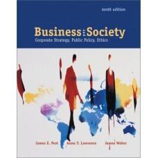 BUSINESS & SOCIETY CORPORATE STRA 10E