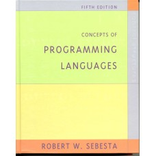 CONCEPTS OF PROGRAMMING LANGUAGES 5E