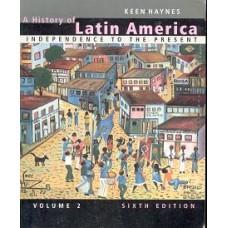 A HISTORY OF LATIN AMERICAN 6E, VOL. 2