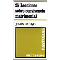 25 LECCIONES SOBRE CONVIVENCIA MATRIMONI