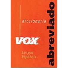 DIC ABREVIADO VOX DE LA LENGUA ESPANOLA