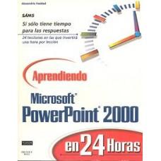 APRENDIENDO MICROSOFT POWERPOINT 2000