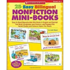 25 EASY BILINGUAL NONFICTION MINI BOOKS