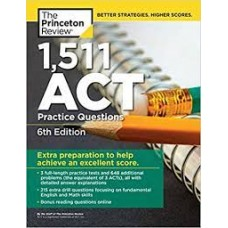 1511 ACT PRACTIE QUESTIONS 6TH ED