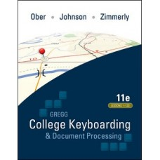 COLLEGE KEYBOARDING & DOCT PRCESSING 11E