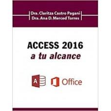 ACCESS 2016 A TU ALCANCE