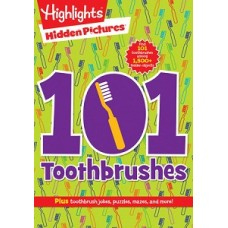 101 TOOTHBRUSHES HIDDEN PICTURES