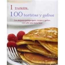 1 MASA 100 TORTITAS Y GOFRES